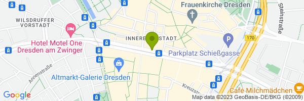Standort Rikscha Dresden