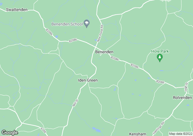 Map for Iden Green Road, Benenden, Kent TN17 4EZ