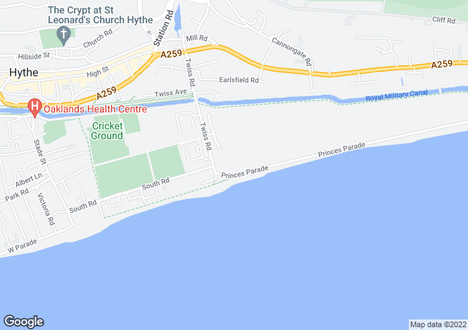 Map for Princes Parade,