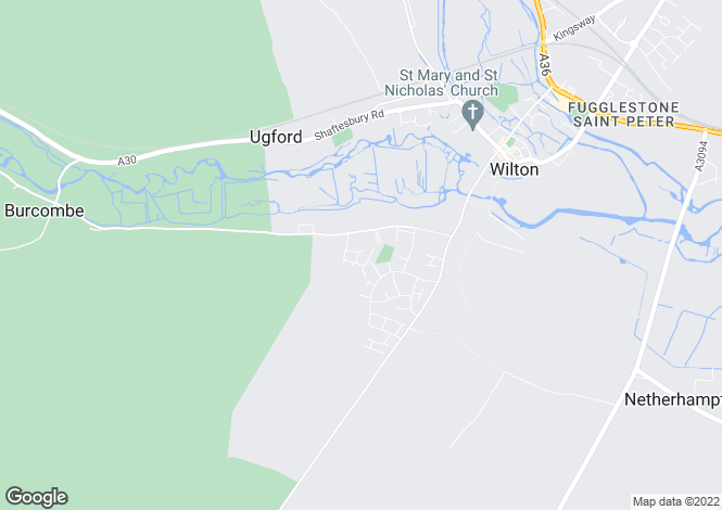 Map for Randalls Croft Road,