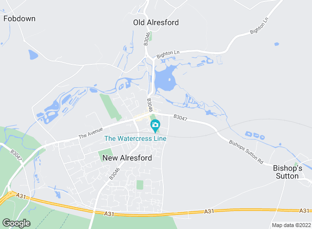 Map for Paul Hellard & Company, Alresford