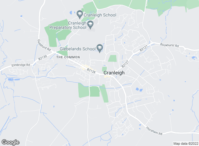 Map for Seymours Estate Agents, Cranleigh