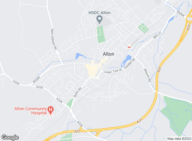 Map for Gascoigne-Pees Lettings, Alton
