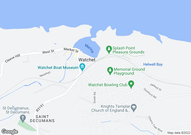 Map for Sea View Terrace,