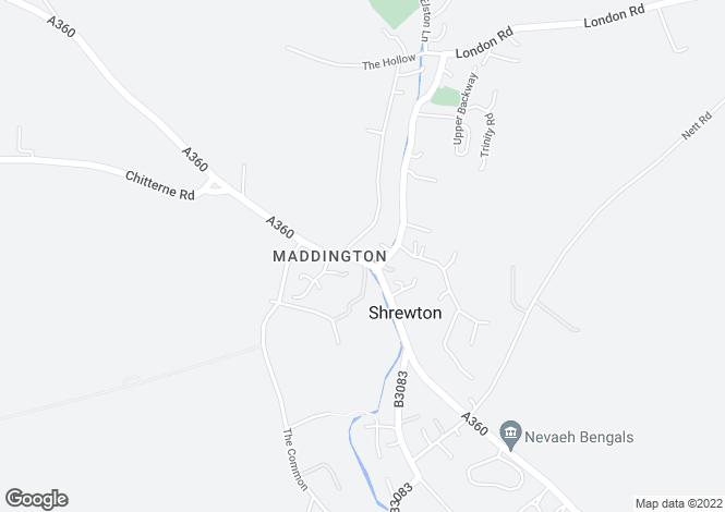Map for Maddington Street, Shrewton, SP3