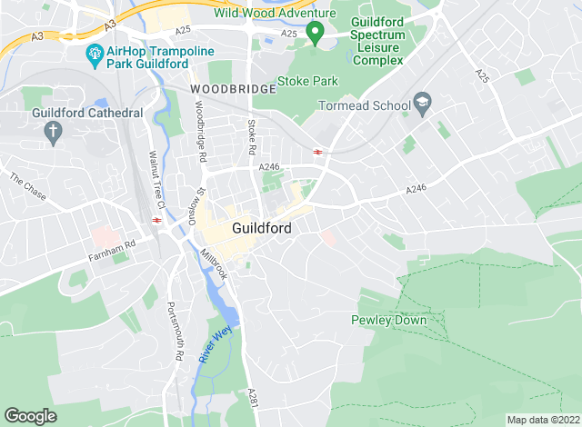 Map for Meldrum Salter Edgley, Guildford