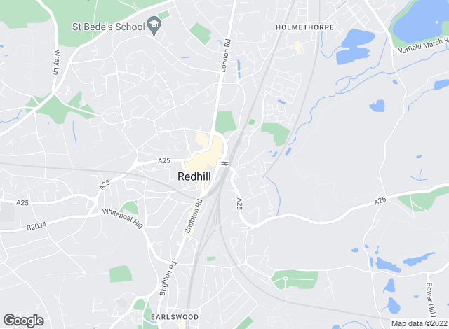 Map for Bairstow Eves, Redhill