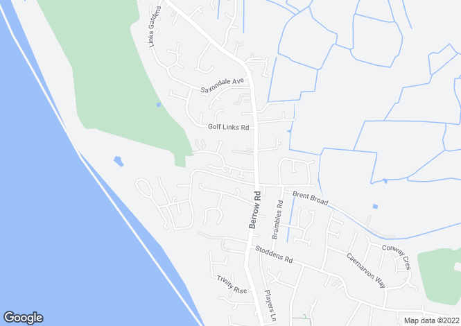 Map for St Christophers Way, BURNHAM ON SEA