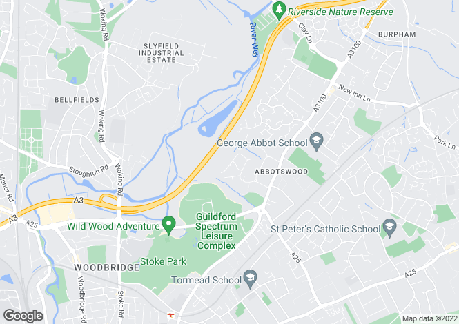 Map for Abbotswood