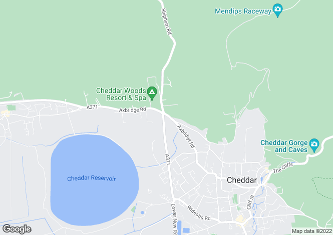 Map for Axbridge Road, CHEDDAR