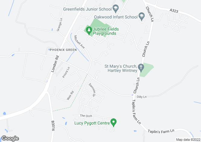 Map for ELIOT SPECIAL at St Marys Park, Dilly Lane,