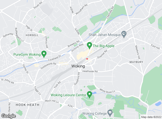 Map for Manners Residential Limited, Woking
