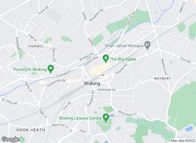 Map for Keelans Estate Agents, Woking