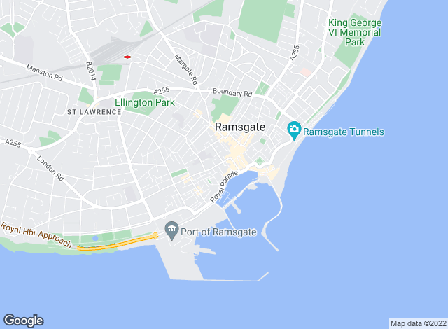 Map for Pearson Gore, Ramsgate