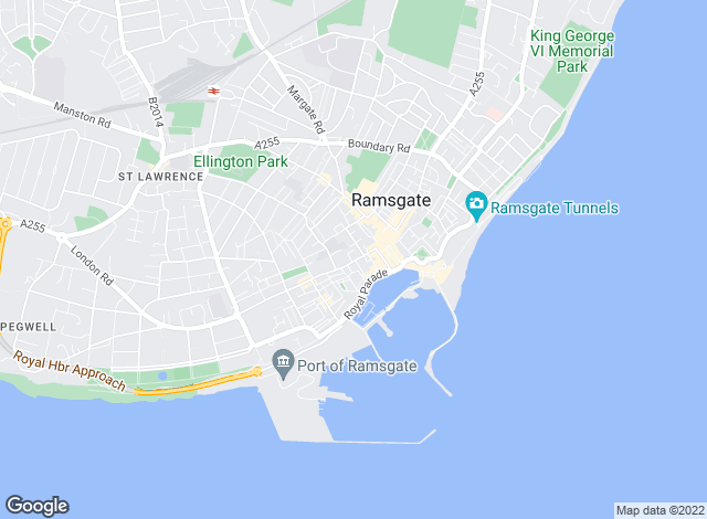 Map for Miles & Barr, Ramsgate