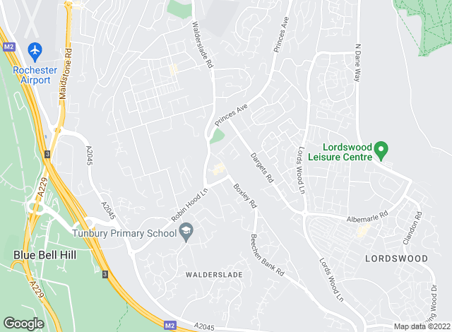 Map for Robinson Michael & Jackson, Walderslade - Resale