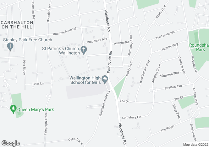 Map for Spencer Court, WALLINGTON, Surrey, SM6 0PJ