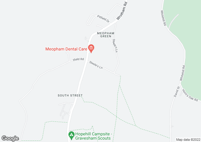 Map for Steeles Lane,