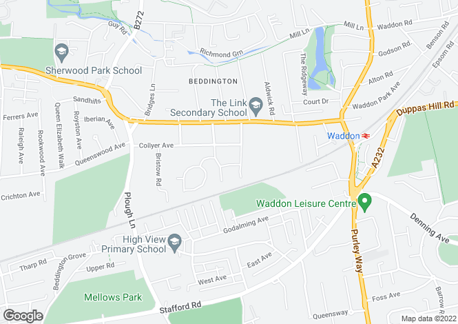 Map for Bedlow Way,