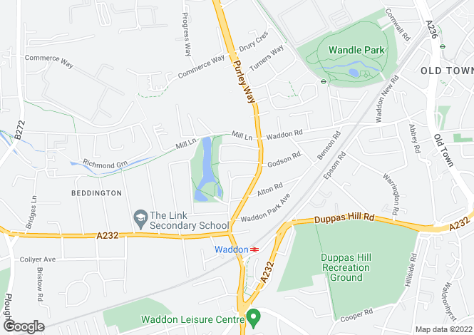 Map for Lodge Avenue,