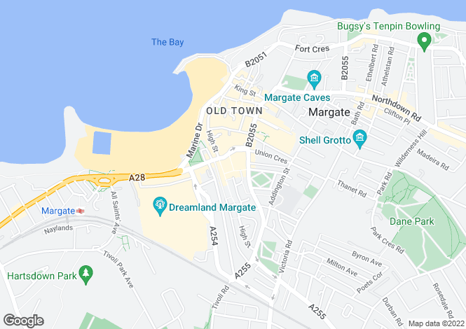 Map for The Centre,