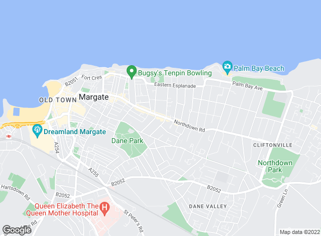 Map for YOUR MOVE Sales - Charterhouse, Cliftonville