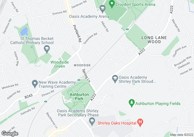 Map for Longhurst Road,