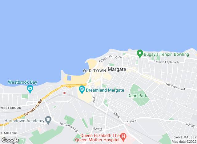 Map for New Space, Margate