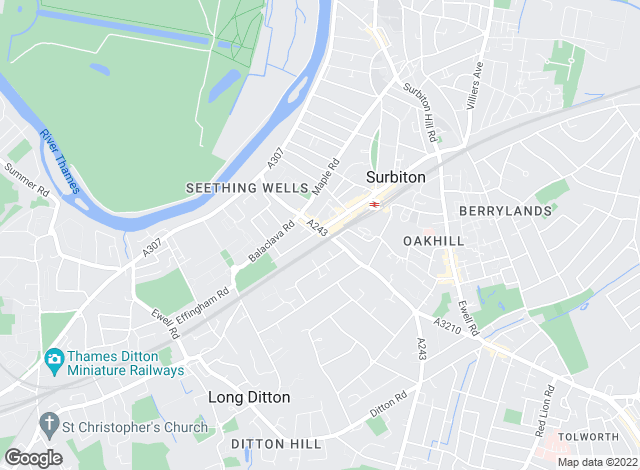 Map for Lords Estate Agents , Surbiton