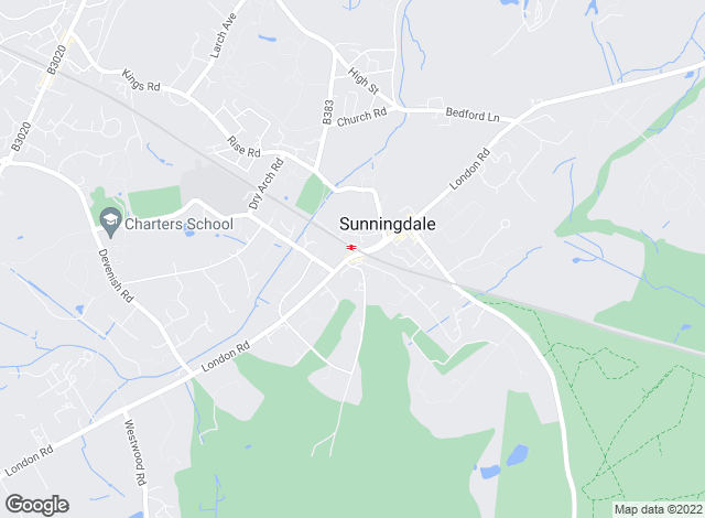 Map for Savills Lettings, Sunningdale