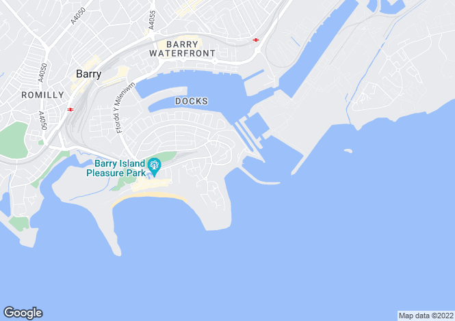 Map for BARRY - Redbrink Crescent