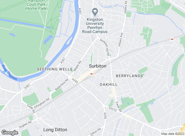 Map for Dexters, Surbiton