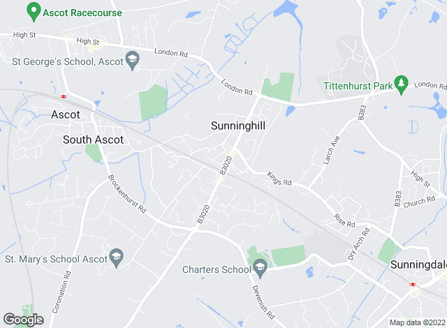 Map for APW Management (Sunninghill) Ltd, Sunninghill