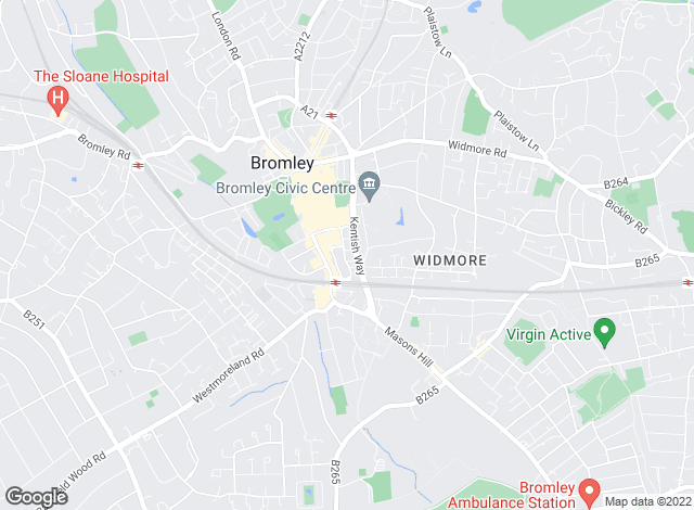 Map for Winchester Lettings Group, Bromley