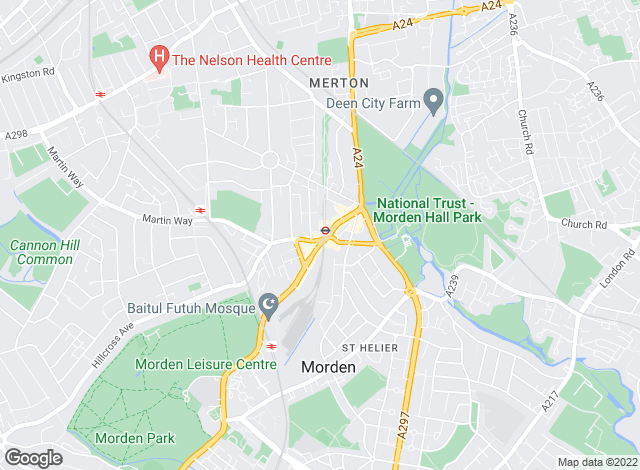 Map for Andrews Estate Agents, Morden