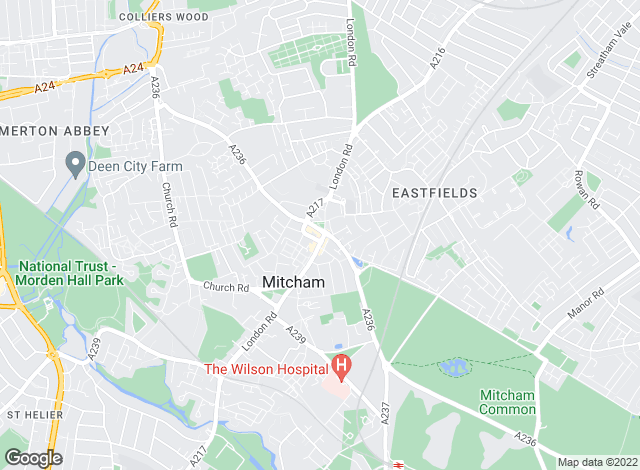 Map for Goodfellows , Micham Lettings