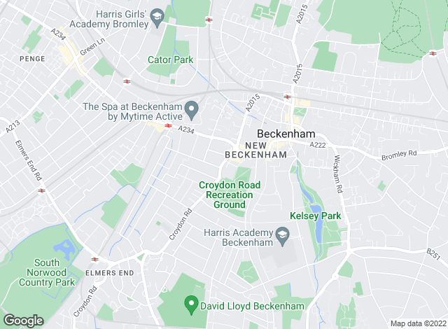 Map for Home Lettings LTD , Beckenham