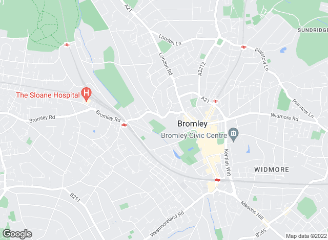 Map for Capital Estate Agents, Bromley - Lettings