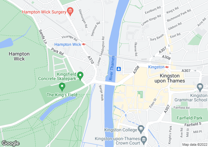 Map for Marina Place,
