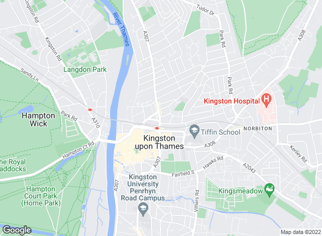 Map for Gibson Lane, Kingston Upon Thames - Sales