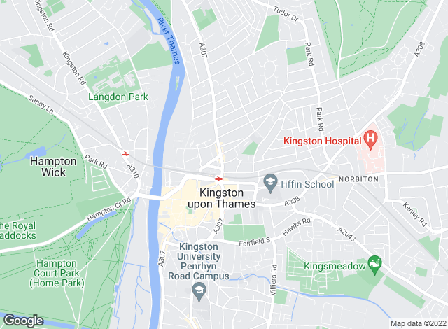Map for Gibson Lane, Kingston Upon Thames - Lettings