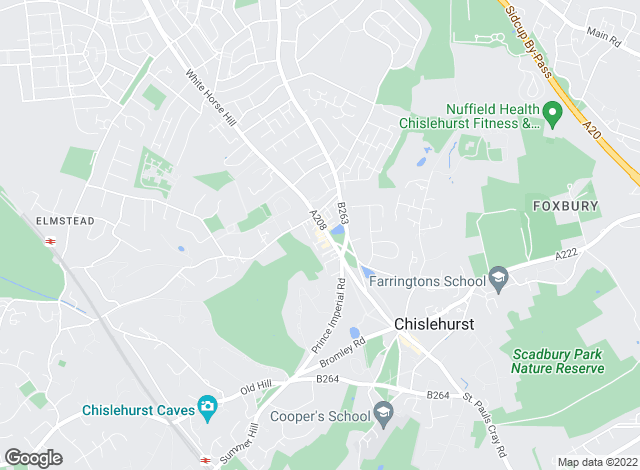 Map for JDM Chislehurst, Chislehurst