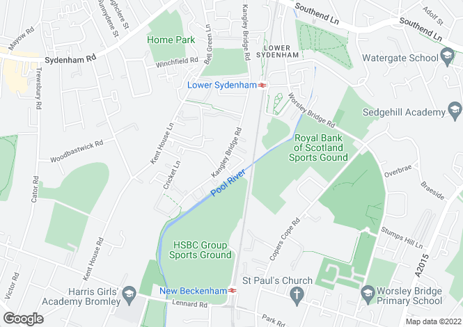 Map for Metro Business Centre Kangley Bridge Road, London, SE26