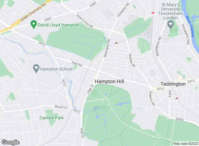 Map for YOUR MOVE Premier, Premier Hampton Hill
