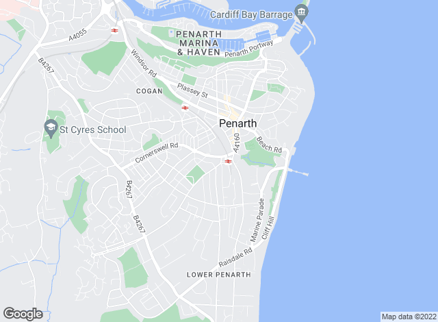 Map for ACJ, Penarth - Lettings