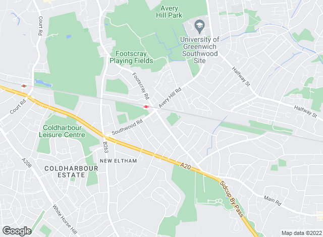 Map for Chattertons, New Eltham