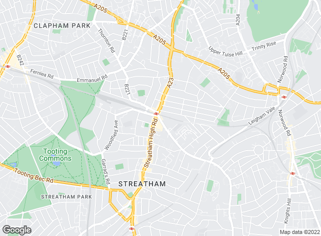 Map for Kinleigh Folkard & Hayward - Lettings, Streatham