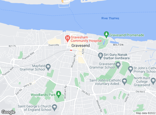 Map for Orange Property Services, Gravesend - Lettings