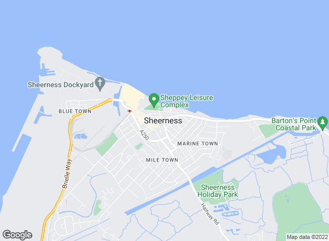 Map for YOUR MOVE Premier, Premier Sheerness