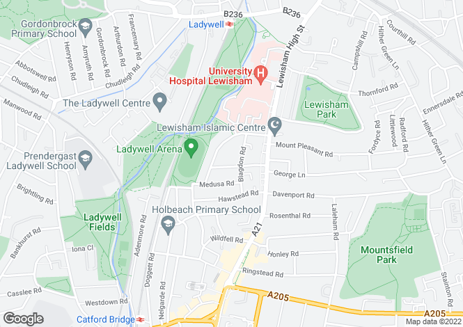 Map for Cavendish Mews, Blagdon Road, Lewisham, London, SE13